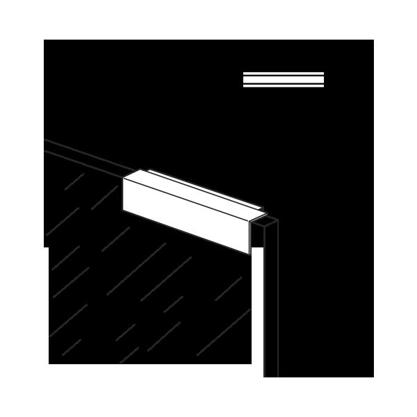 Cerradura magnetica for Mosquitera magnetica puerta