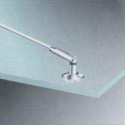 Conector vidrio a barra