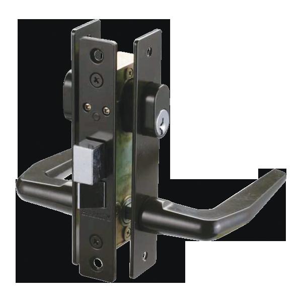 Cerradura con doble manija for Puerta plegable con cerradura