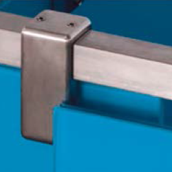 Conector superior vidrio a tubo
