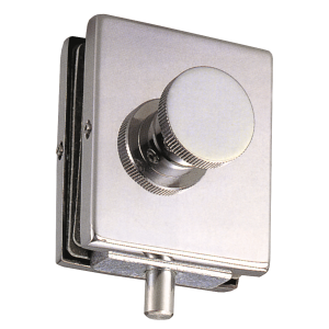 Lock with knob