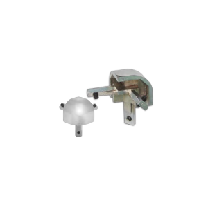 CORNER CONNECTOR FOR GLASS DISPLAY SHOWCASE 90˚