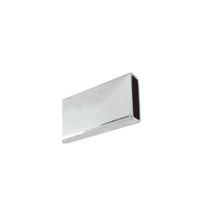 Rail: Rectangular tube 30x10mm in 2 mts length